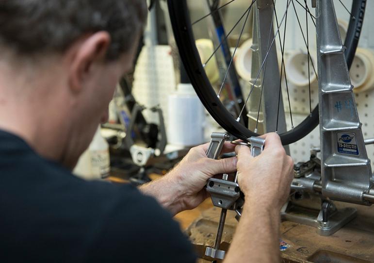 WheelSmith montaggio